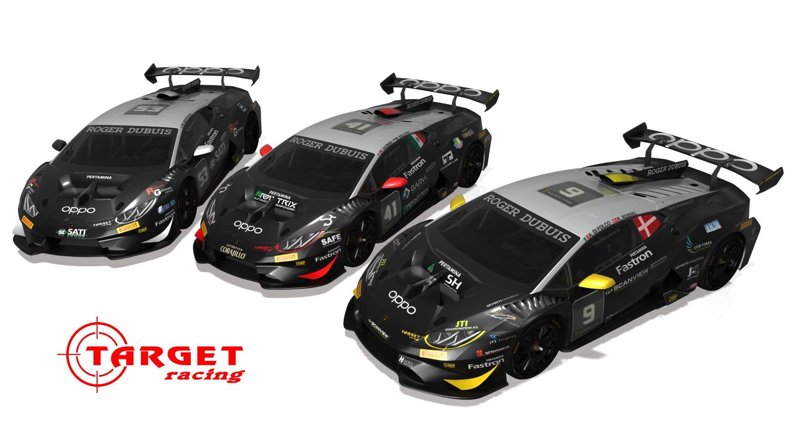 Target Racing ready for Super Trofeo Lamborghini opener