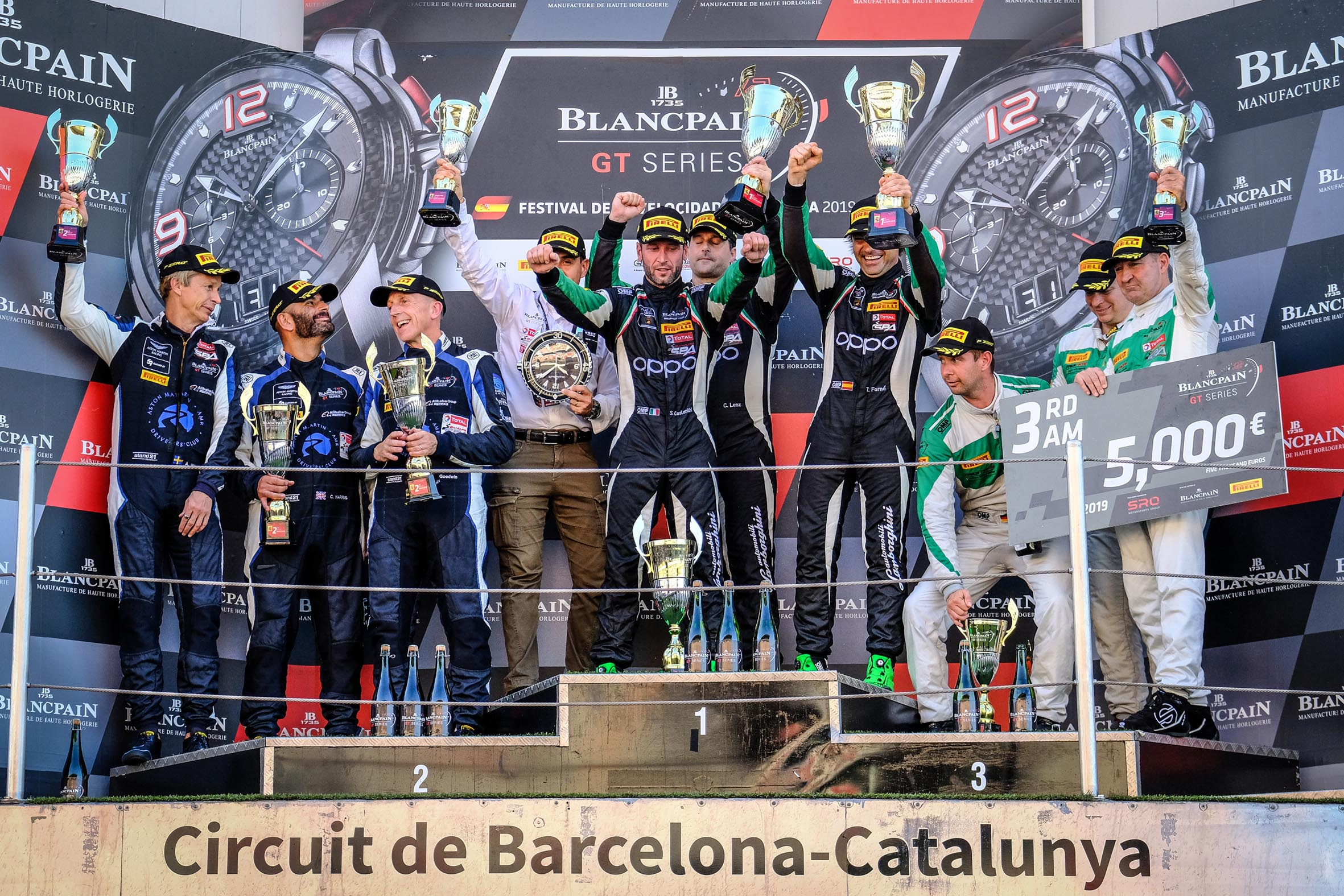 Raton by Target trionfa a Barcellona nella AM Cup del campionato Blancpain