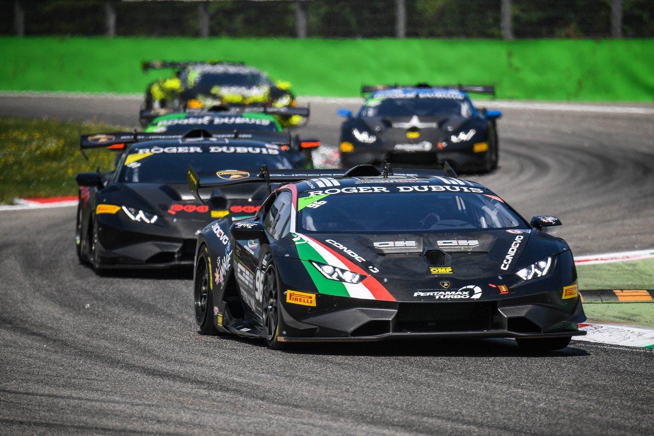 Target brilla a Monza nel Super Trofeo Lamborghini