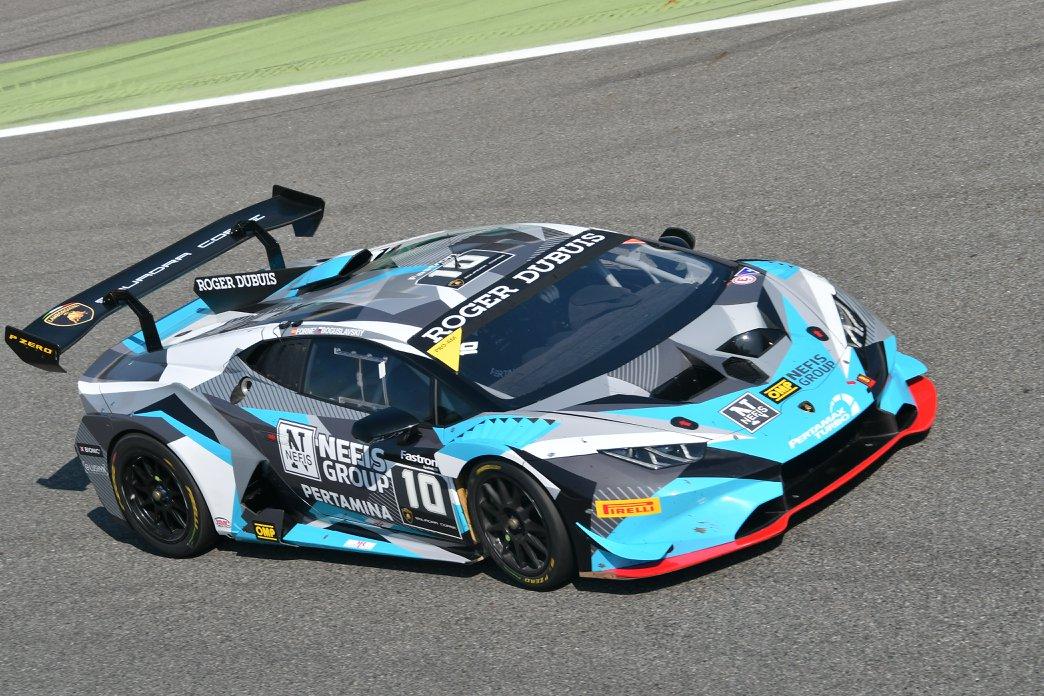 Target Racing shines at Monza in the Super Trofeo Lamborghini