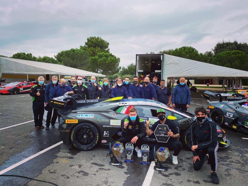 Target Racing takes European Best Team title in 2020 Super Trofeo Lamborghini