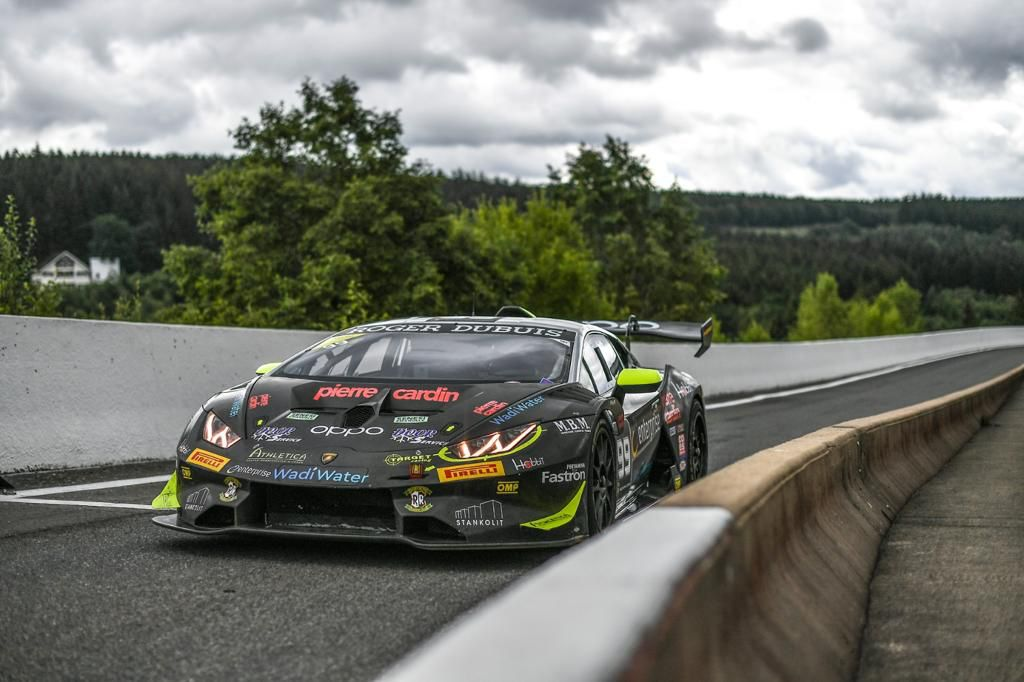 Target Racing close to the podium at Spa-Francorchamps