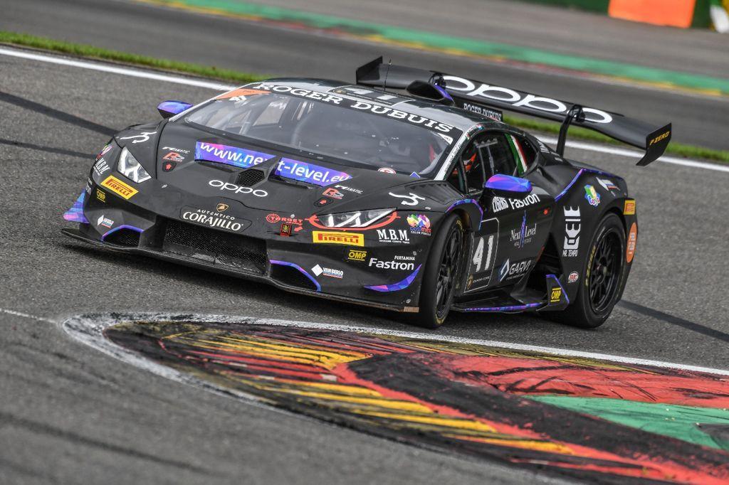 Target Racing sfiora il podio a Spa nel Super Trofeo Lamborghini