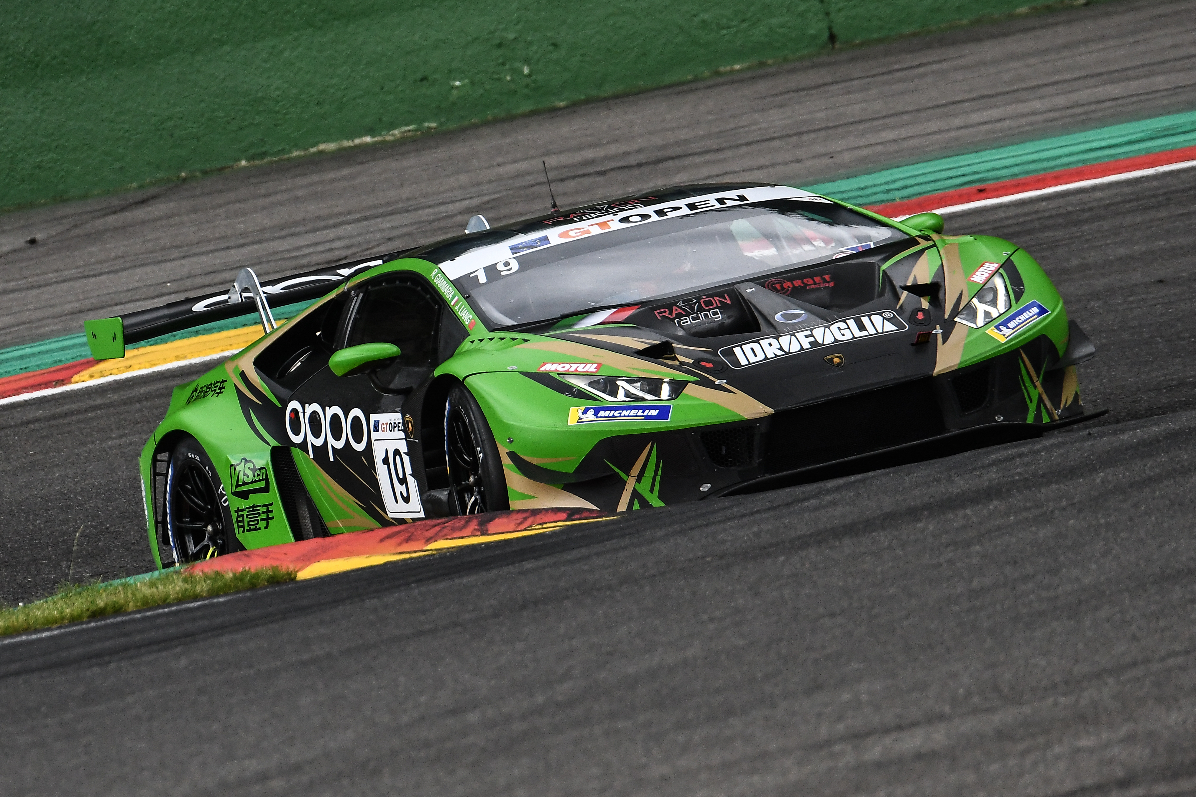 Al Red Bull Ring per il GT Open, Raton by Target con Liang-Giammaria