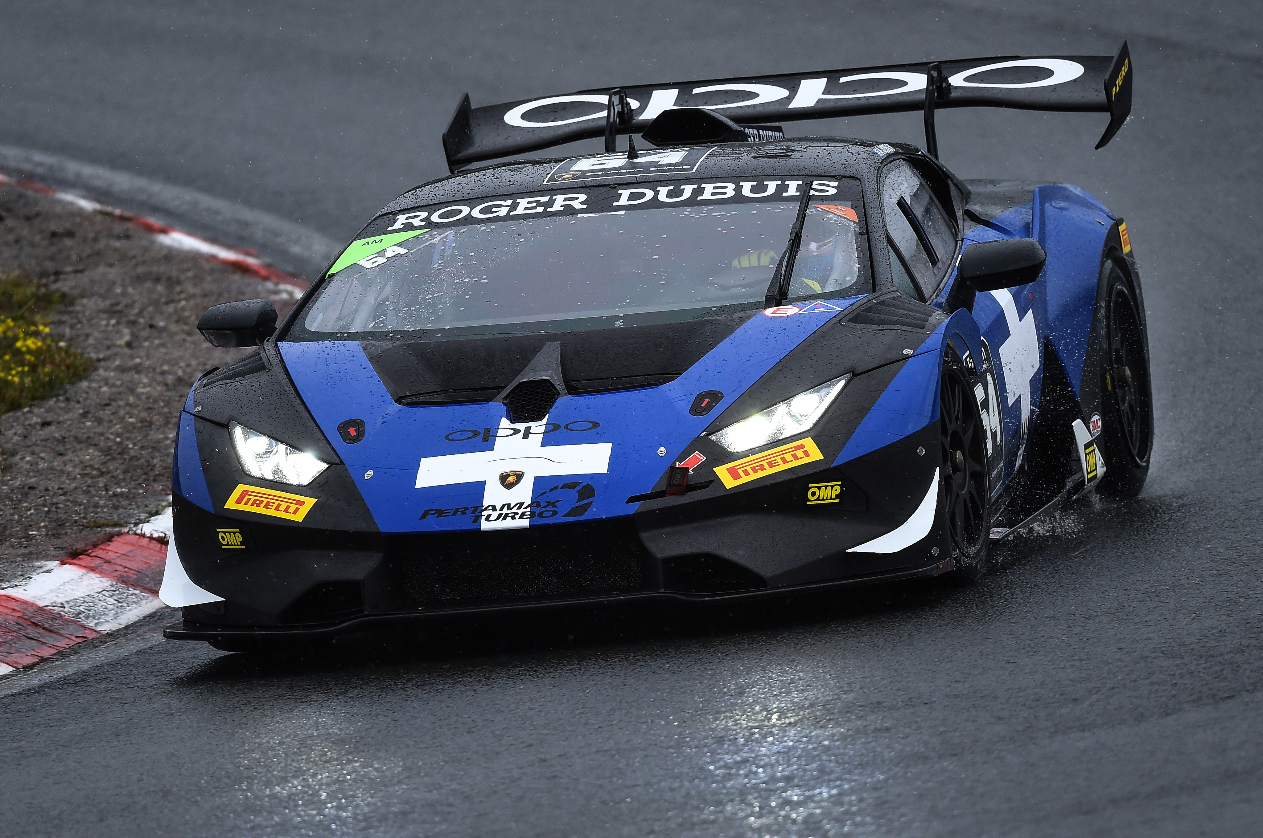 Target grabs podium at Zandvoort on Lamborghini Supertrofeo